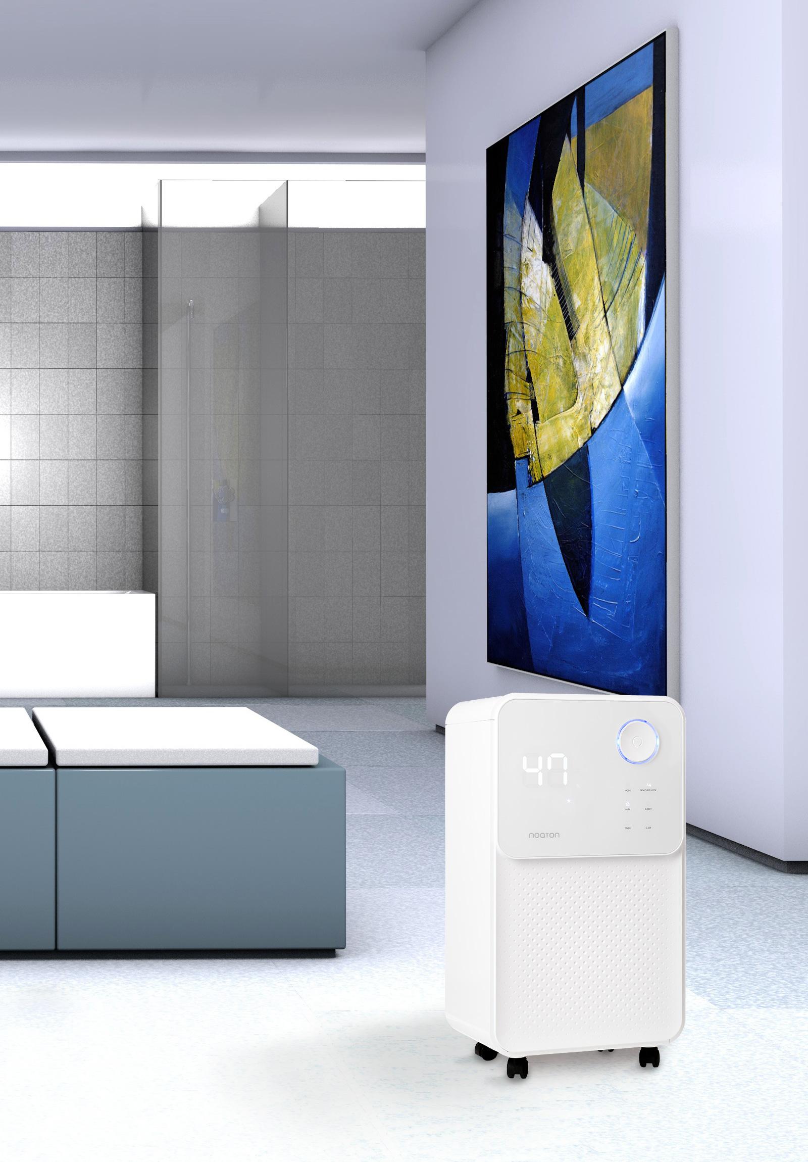 Luftentfeuchter & Luftreiniger Noaton DF 4114 - im Badezimmer